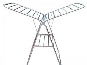 百佳宜晾衣架图片 翼型晾衣架效果图