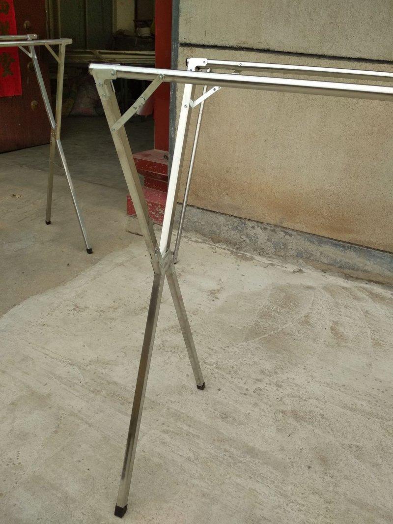 恋尚晾衣架  不锈钢1.5米双杆伸缩晾衣架效果图