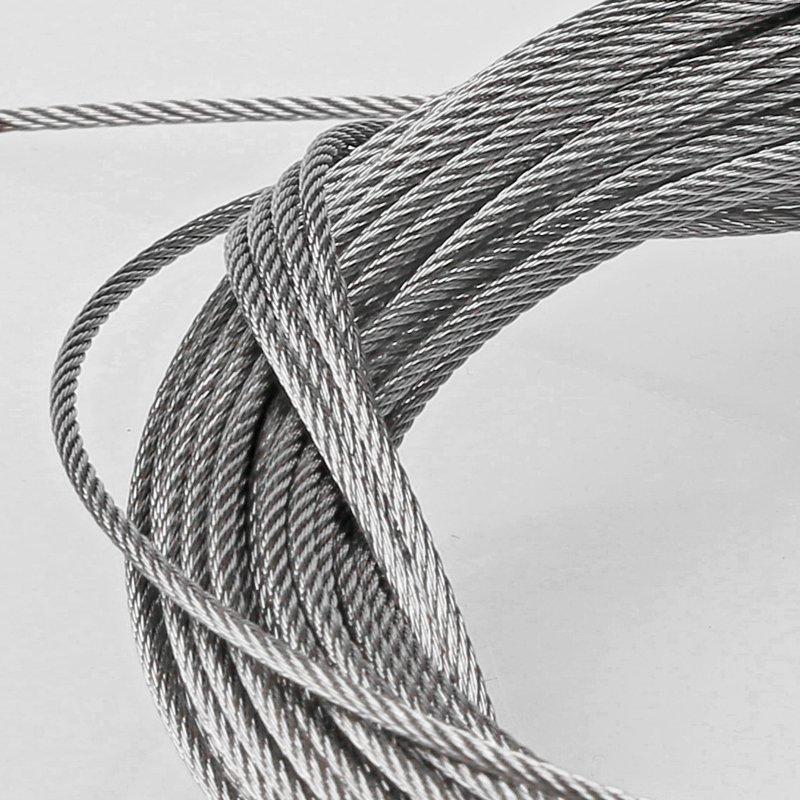 金诺卡迪晾衣架 阳台晒衣钢丝绳室内304不锈钢丝晾衣架室外隐形晾衣效果图