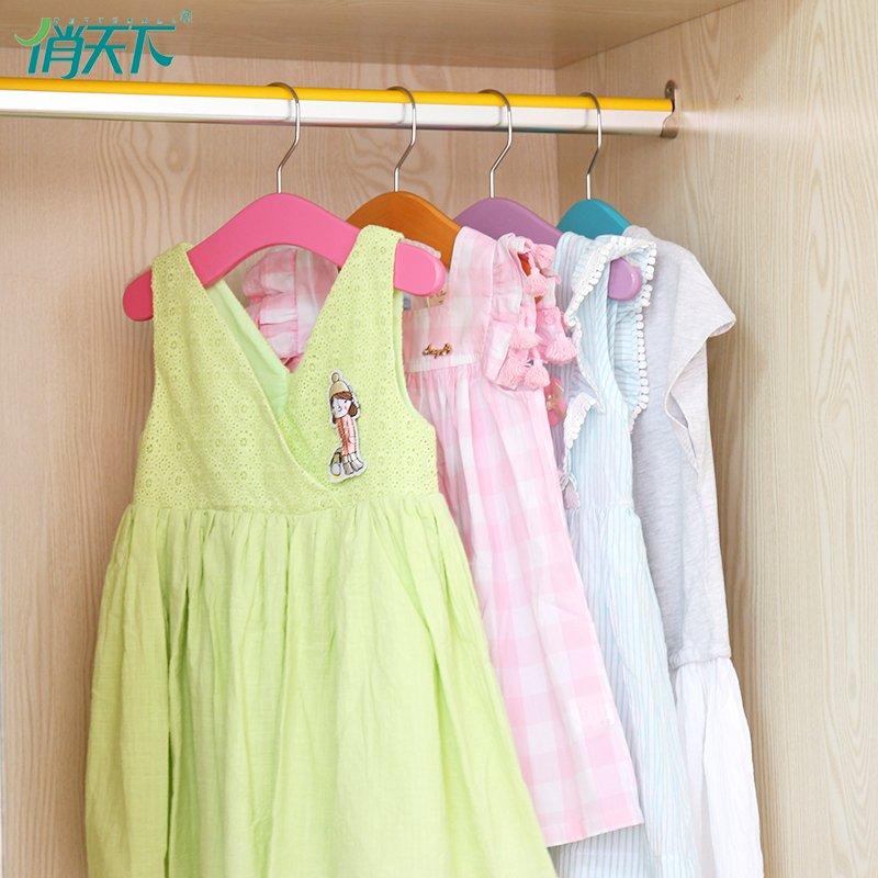 俏天下晾衣机 实木儿童晾衣架